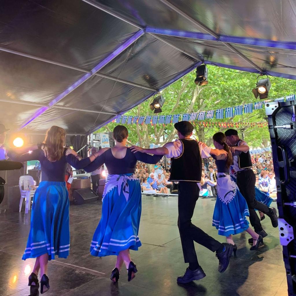 Zorba dancers, National Multicultural Festival, Canberra