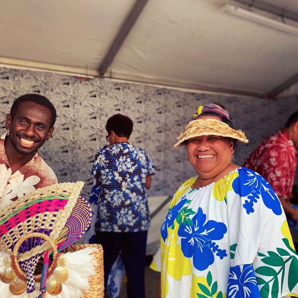 Stallholders at the National Multicultural Festival in Canberra, 2020