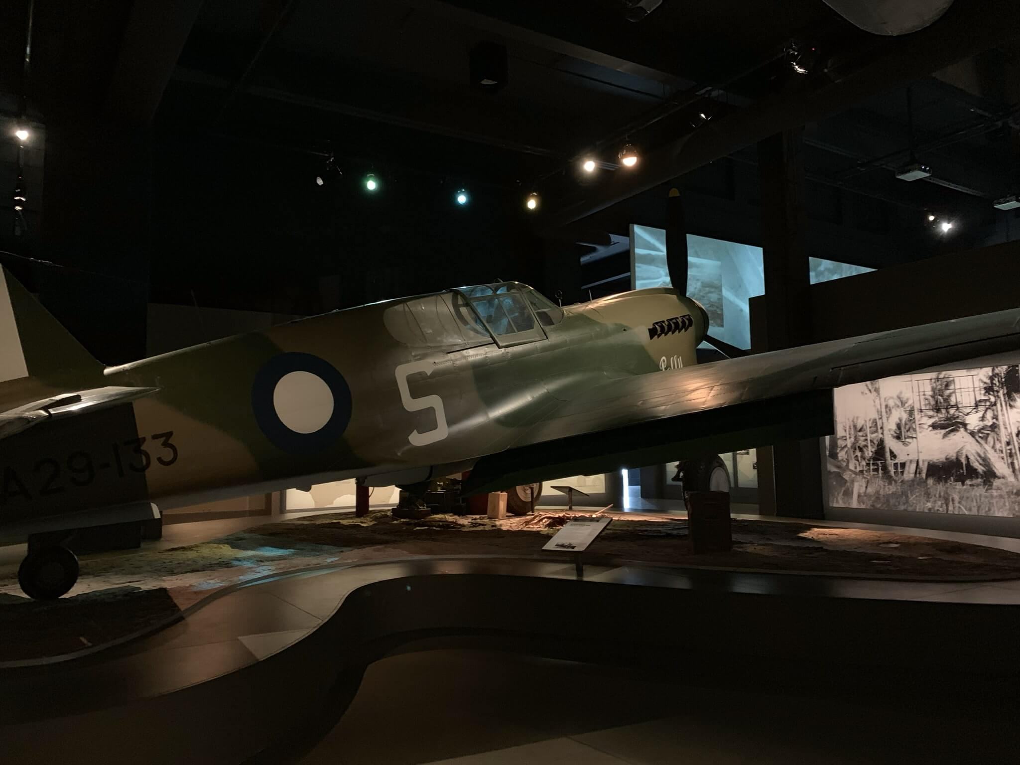 Retired war plane, National Museum of Australia