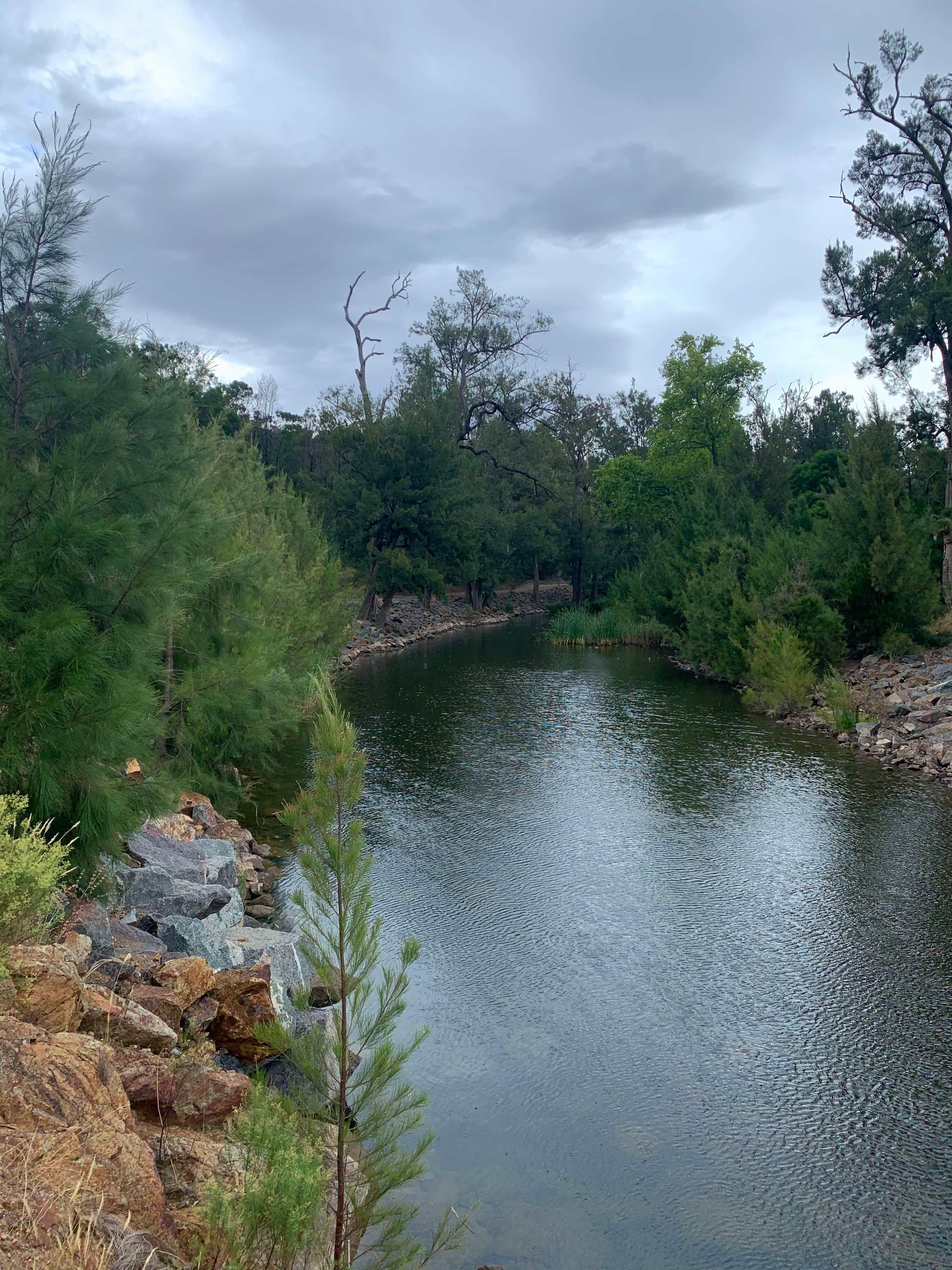 Cotter dam, Canberra