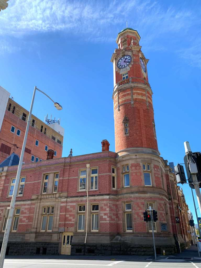photo of the old clock tower, Launceston