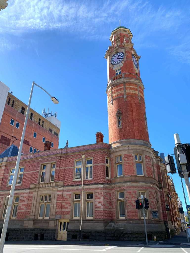 photo of the old clock tower, Launceston