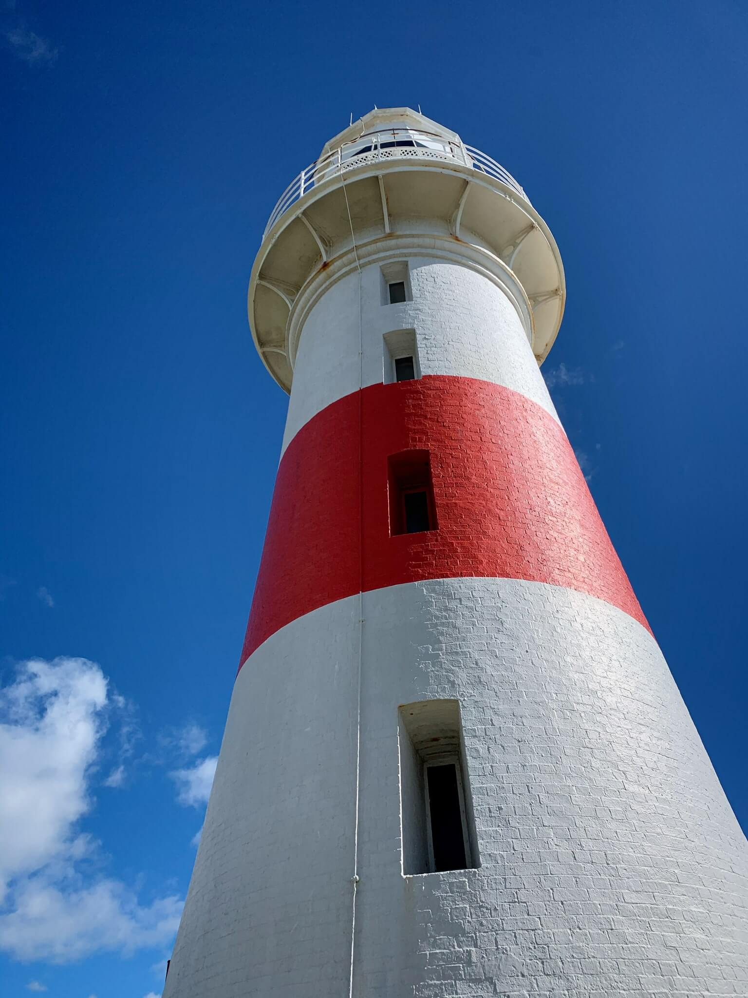 photo of the Low Head lighthouse in Tasmania
