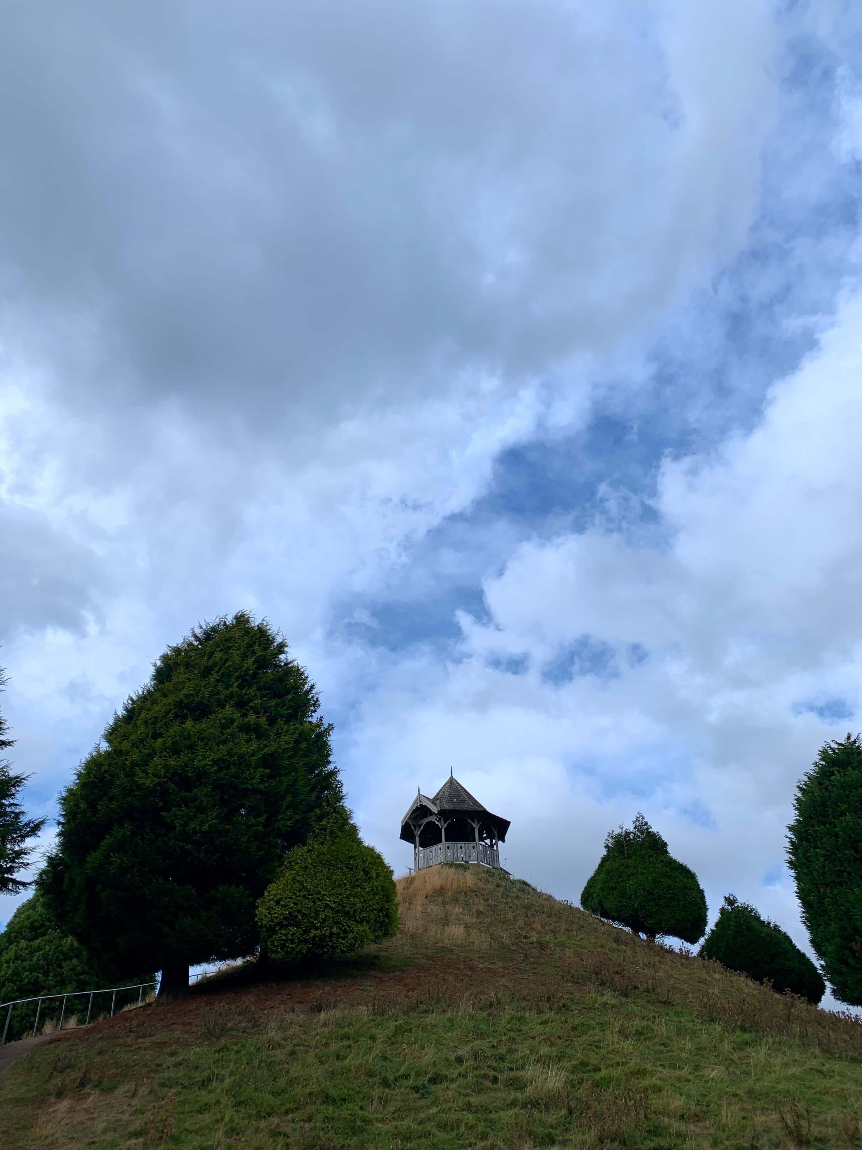 viewpoint on a small hill, Grindlewald, Launceston, Tasmania